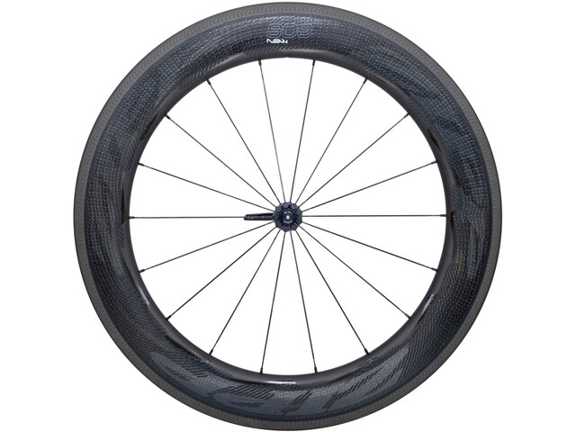 Zipp 808 NSW Carbon Clincher forhjul 18 sort (2019) | Front wheel